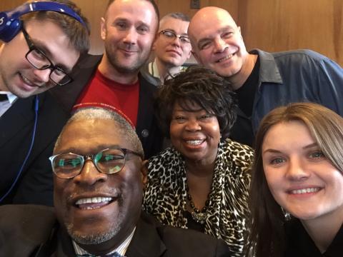 Szczecin Jazz z wizytą u burmistrza Kansas City, Sly'a James'a.